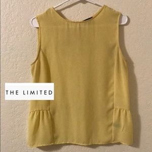 THE LIMITED Sheer Tank Top